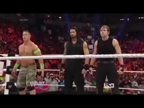 The Shield and John Cena vs. The Wyatt Family (June 9, 2014)