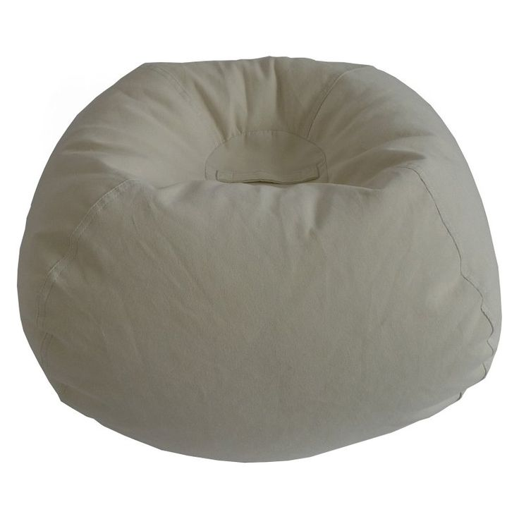 Ace Casual Furniture Medium Solid Corduroy Bean Bag Chair