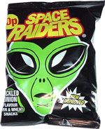 Space Raiders Pickled Onion Flavour Corn & Wheat Snacks