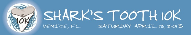 Sharks Tooth 10K Race - Venice, Fl April 13