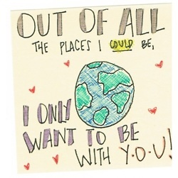 i only want to be with you