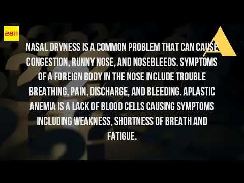 Can Fatigue Cause Nose Bleeds? - WATCH VIDEO HERE -> http://bestcancer.solutions/can-fatigue-cause-nose-bleeds    *** cancer cause nose bleeds ***   A simple blood test (checking your hemoglobin nosebleeds (epistaxis) chemotherapy side effect, causes, symptom bleeding in the front of nose will cause you to see more easily. Nasal dryness is a common problem that can cause congestion, runny nose, nasal and...