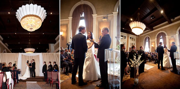 Liberty Grand wedding ceremony