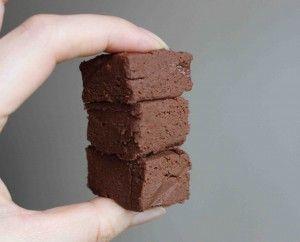 Soft and squidgy sweet potatoe chocolate fudge - recipe on the blog: www.hairmakeup.co.uk/blog