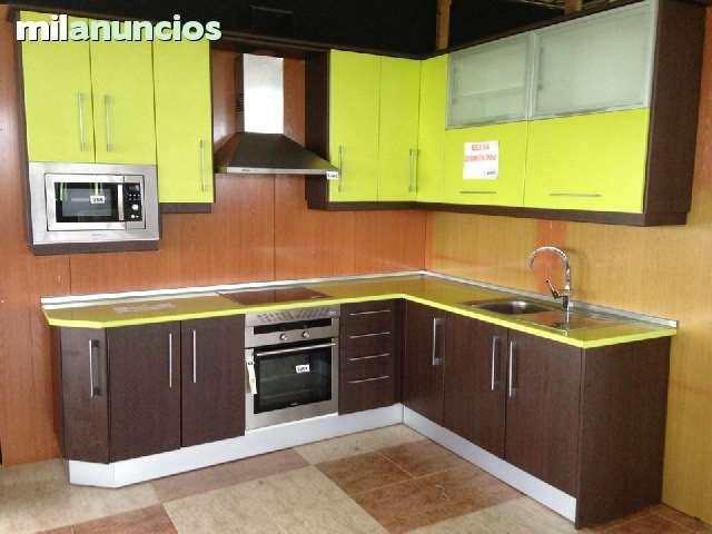 Muebles de cocina lineal o angular en perfecto estado for Muebles de cocina x metro lineal