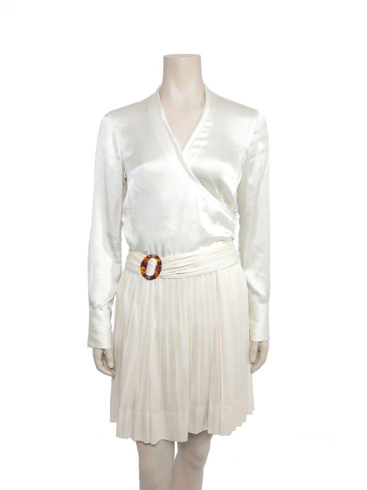 Gucci Pleated Fan Skirt www.sabrinascloset.com