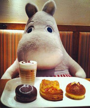 The Moomin Cafe, Tokyo, Japan
