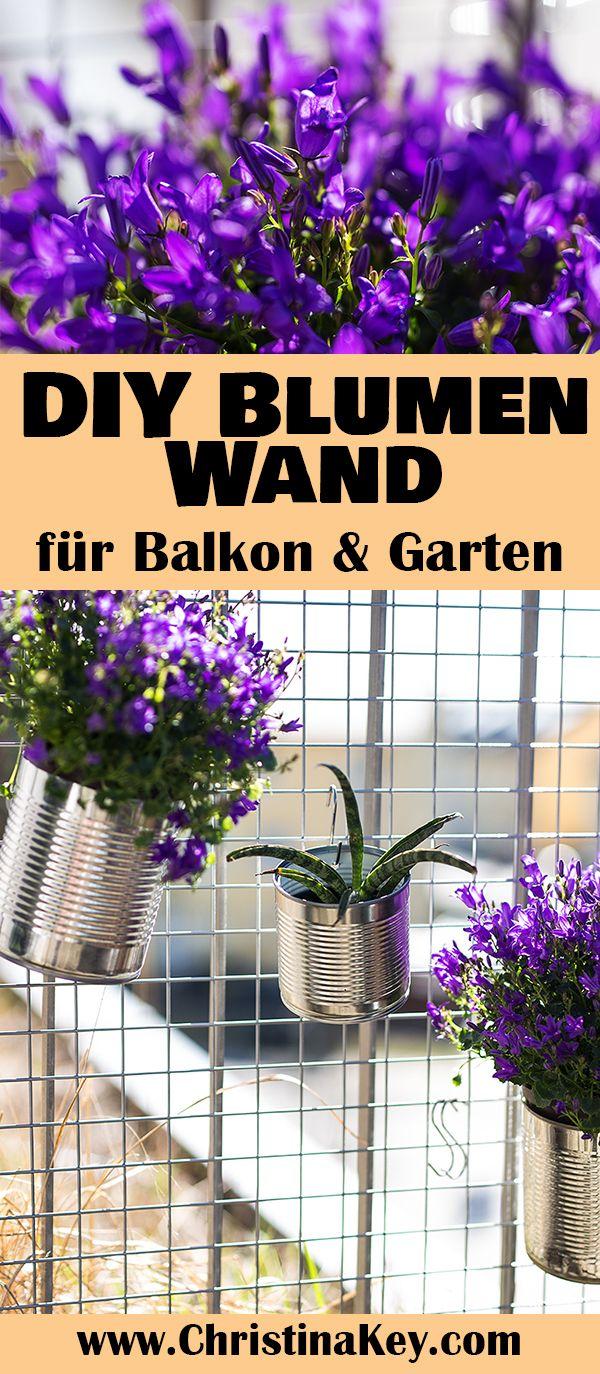 Coole Idee zum selber machen und Verschenken: DIY Blumen Wand für Gartenkräuter und Frühlingsblumen - Leicht gemacht & sehr schön anzuschauen! Do It Yourself / Idee / Frühling / Garten / Balkon / Creative / Simple / Blumen / Dosen / Upcycling / Sommer / Inspiration / Home / Crafts / Crafting / Can / box / self made / kids / summer / spring / garden / flower / plants / hack / cool / berlin / diy blog / christina key / Geschenk / Gift / Selber machen / Idea / Low Budget / Preiswert / Günstig