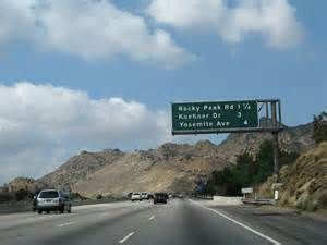 118 going to Simi Valley  I remember when this first opened.