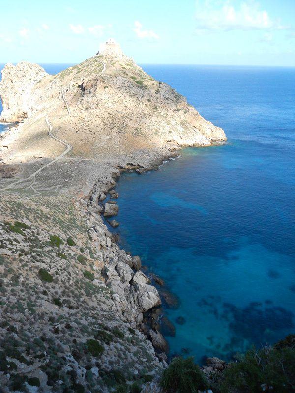 Sicilia   Il Castello di Punta Troia, Isola di Marettimo, arcipelago delle Egadi ...