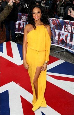 I long for a beautiful yellow garment.