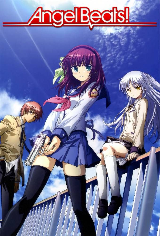 Angel Beats. Anime angel, Angel beats, Manga figuren