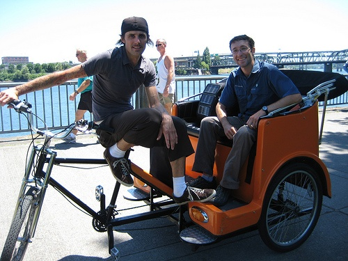 Skip the car cab and go PDX Pedicab, an unique and fun way to get around Portland. These guys are a blast as they zip around town! PDX Pedicab also offers tours - everything from Distillery Row to breweries, wedding parties to a tour of all that keeps Portland weird!  http://pdxpedicab.com  226 Southeast Madison Street, Portland OR          Walking Distance: 0.9 miles / 1.5 km, 19 minutes          Driving Distance: 1.0-1.2 miles / 1.6-1.9 km, 5-6 minutes          Public Transit: 13-19…
