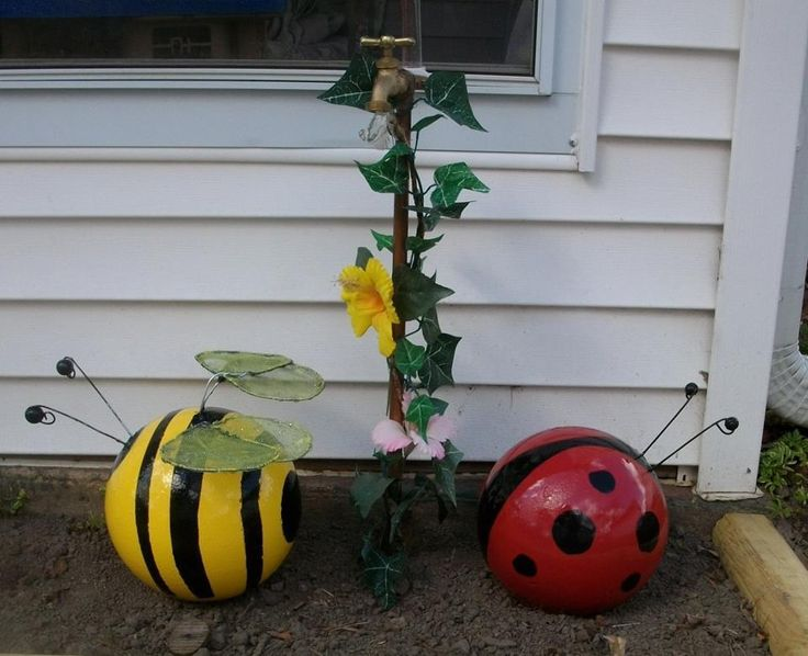 17 Best Ideas About Bowling Ball Ladybug On Pinterest