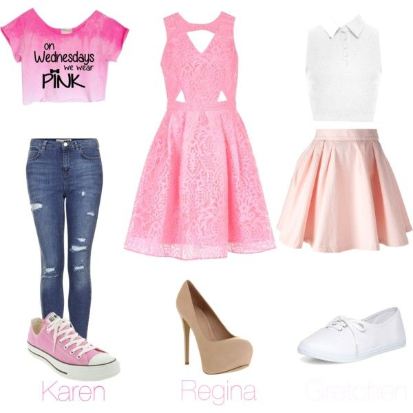 The Plastics (Mean Girls Inspired Outfits) - Polyvore