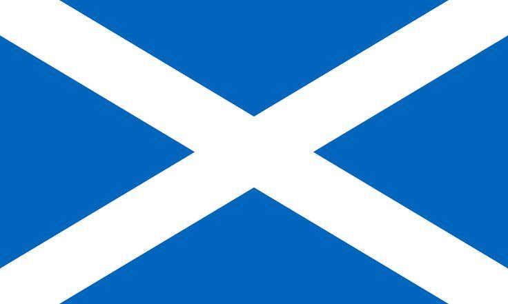 Flag of Scotland - Scotland - Wikipedia, the free encyclopedia