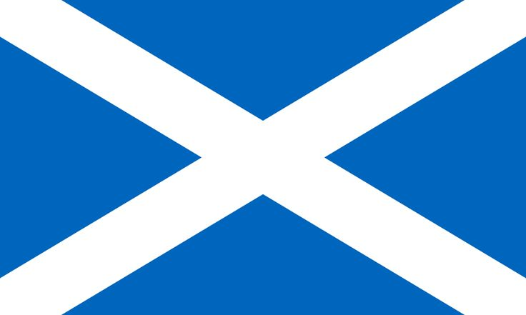 Flag of Scotland - Scotland - Wikipedia, the free encyclopedia