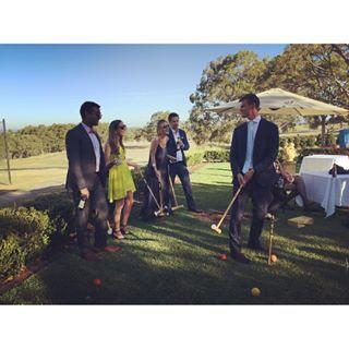 Wedding Croquet at The Sebel Kirkton Park Hunter Valley www.sebelhuntervalley.com.au/weddings
