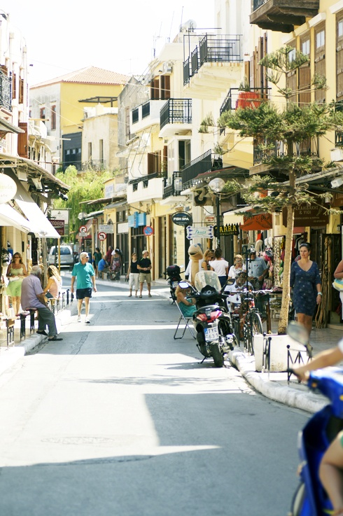 Chania's streets