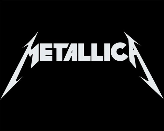 Metallica band logos The Metallica logo showcases everything that a metal logo should be Created by Turner Duckworth, the famous Metallica logo got a redesign back in 2008. Based on the band's original version from 1981, Duckworth also designed the identity and packaging for the band's album 'Death Magnetic'. Like countless other metal bands, Metallica's own take on the metal aesthetic is something that their fans cherish; whether it be a tattoo or scrawled on school books.