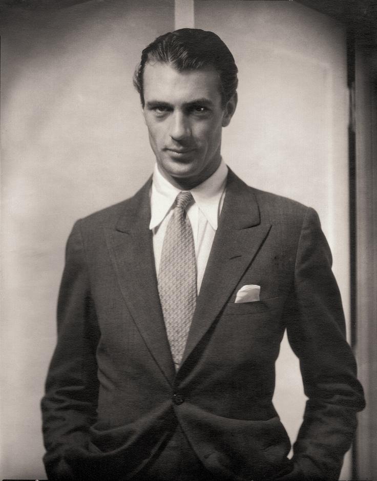 Gary Cooper, by Edward Steichen 1930