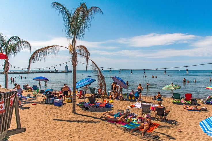 This incredible tropical beach is just two hours from Toronto - port dover beach
