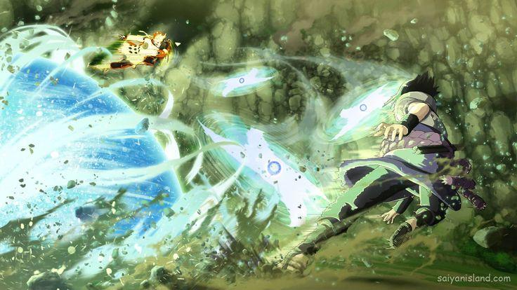 Naruto Storm 4: The Last Naruto/Sasuke Combination Ultimate Jutsu, Jubi Story Mode Battle   Saiyan Island
