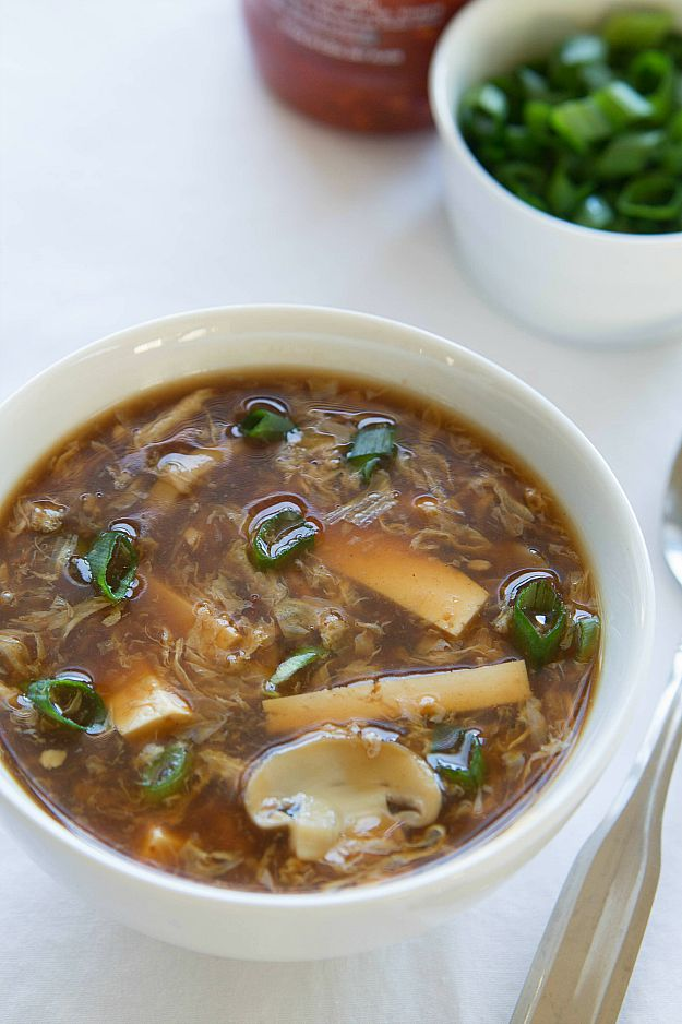 Homemade Hot and Sour Soup is a quick and easy soup to make. So delicious!