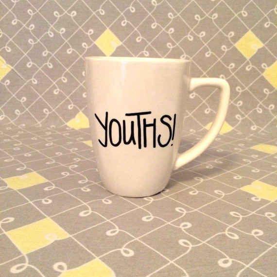 And this mug: I need this mug.