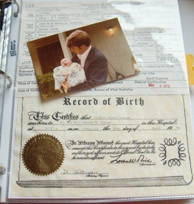 organizing boxes of family history keepsakes