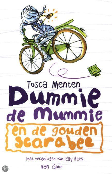 Dummie de mummie – en de gouden scarabee – leuk kinderboek Doelgroep:7 tot 9 jaar Lees over het boek op mijn website.