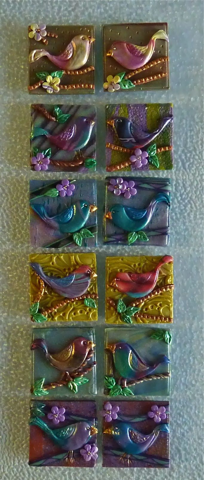 Knightwork: Playing with Clay - Polymer Clay Inchies