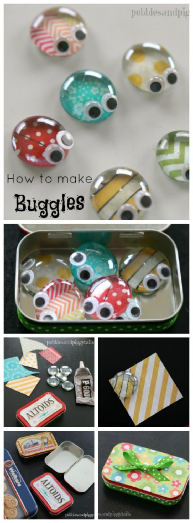 Most Popular Teaching Resources: Altoid Tin Reuse Bug Craft Toy