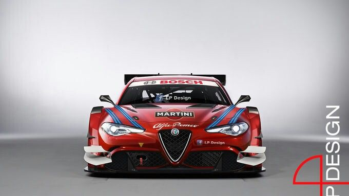 Brand new Alfa Romeo Giulia in DTM ? Quelle: motorsport-aktuell.com
