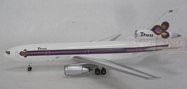 277.20$  Watch now - http://alieaq.worldwells.pw/go.php?t=32596329479 - Inflight Thailand Airlines 1:200 IF103031 HS-TGE DC-10-30 commercial jetliners plane model hobby