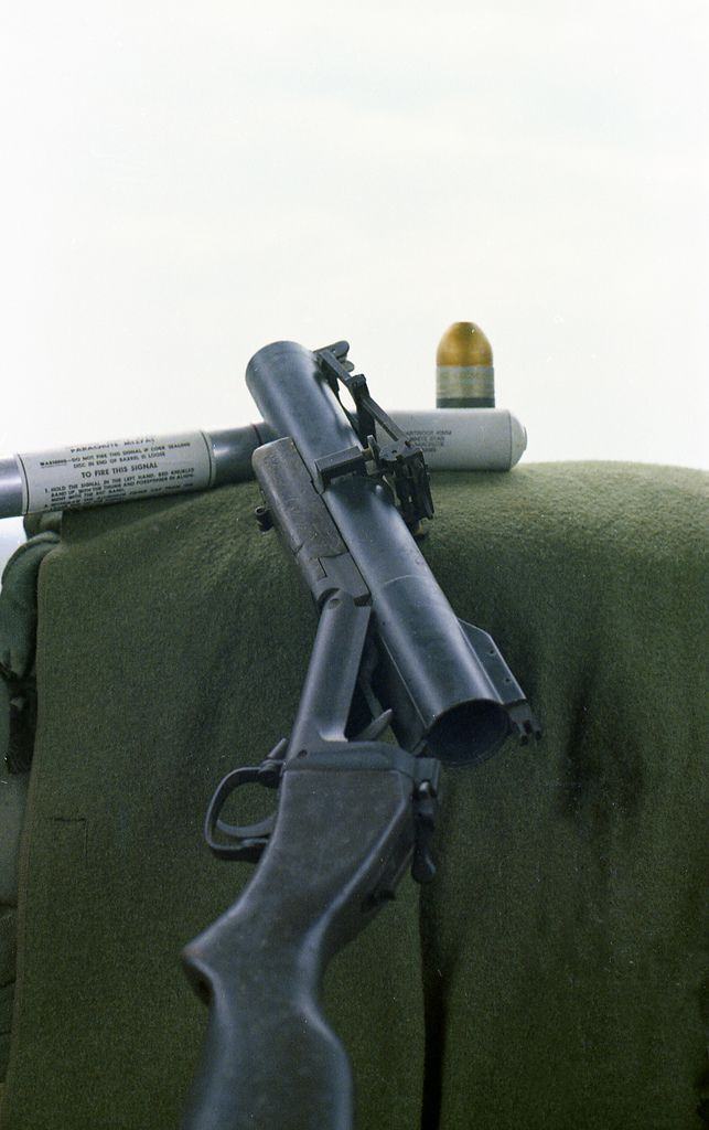 "M79 grenade launcher or ""thump gun"""