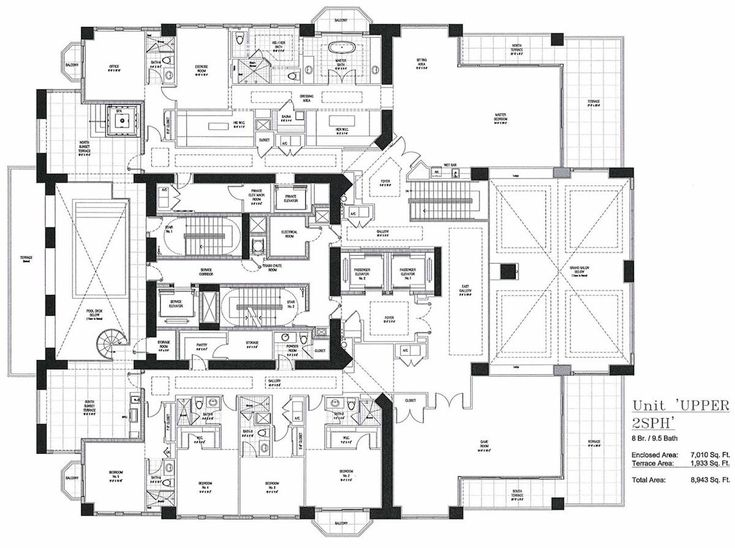 Here's the Floorplan to Florida's Future Priciest Penthouse - Curbed