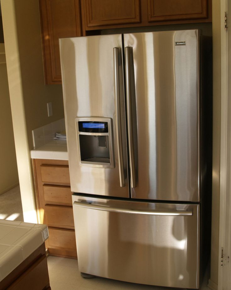 Image result for Cleaning Stainless Steel When our old refrigerator developed a leak in the gasket