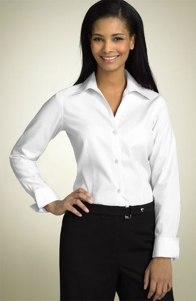 92 best work it the white shirt images on pinterest for Crisp white cotton shirt