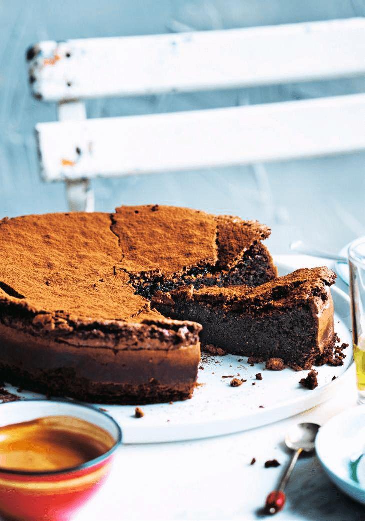 Recette d'un moelleux au chocolat, Moelleu au chocolat facile et rapide, Préparation de la recette.