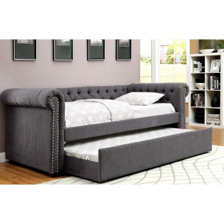 Gray And Yellow Daybed Bedding : Best ideas about trundle daybed on single