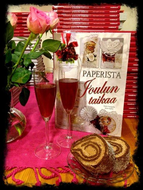 Paperista Joulun Taikaa -books