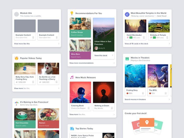 Content Components –Vurb