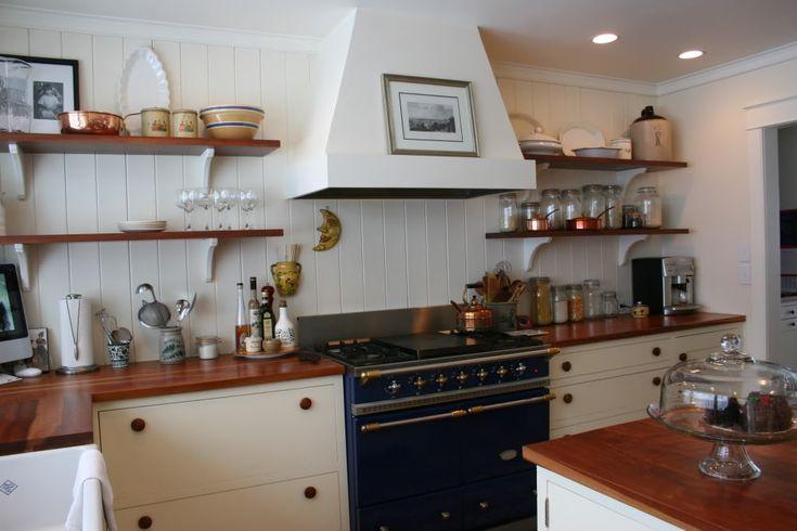 simple white range hood wood shelves kitchen pinterest shelves