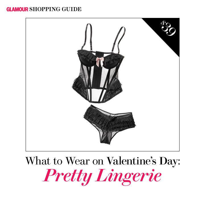 What to Wear on Valentine's Day: 25 Fab Dresses, Heels, and Lingerie: Glamour.com
