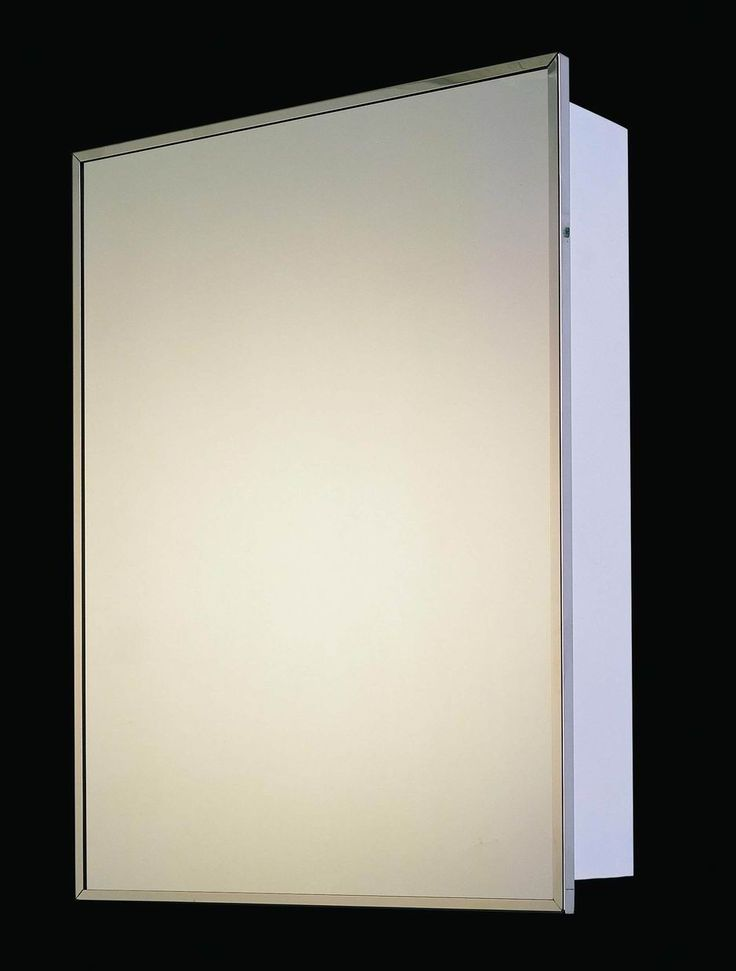 "Ketcham Medicine Cabinets Builders Grade 16"" x 26"" Surface Mount Medicine Cabinet & Reviews   Wayfair $59"