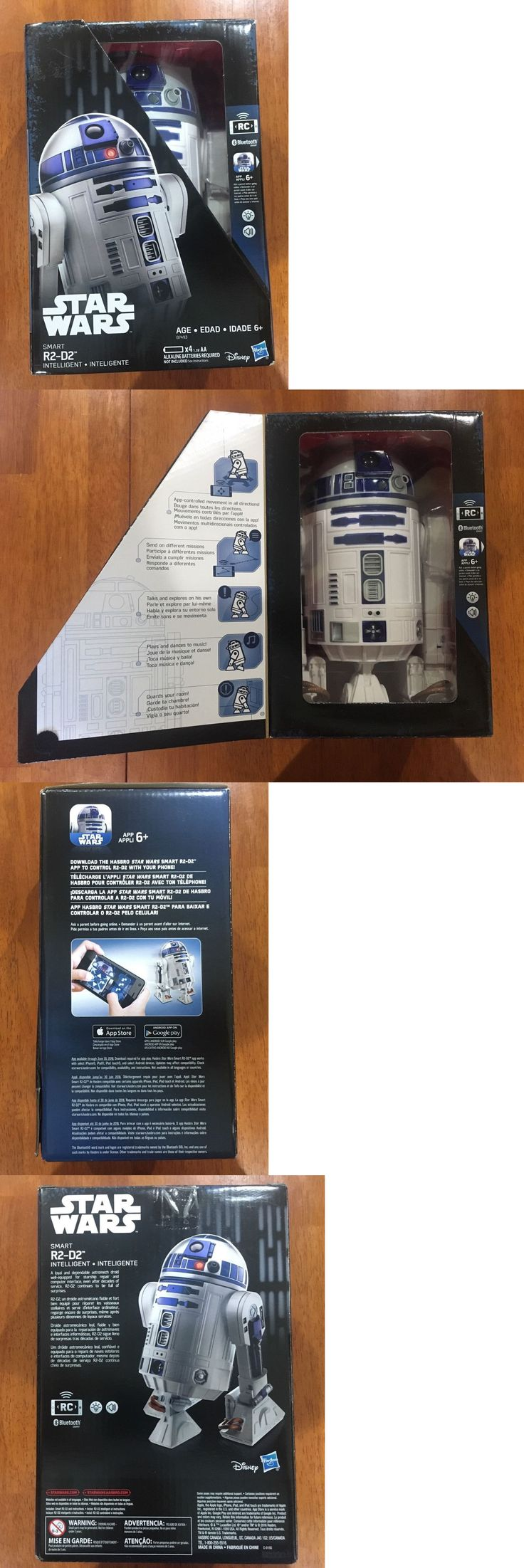 1970-Now 19198: Star Wars Smart R2-D2 - Disney - Hasbro *Rc *Bluetooth - New In Box - Sealed -> BUY IT NOW ONLY: $45 on eBay!