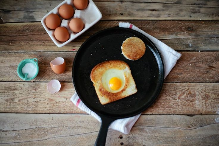 A CUP OF JO: Egg in a Hole