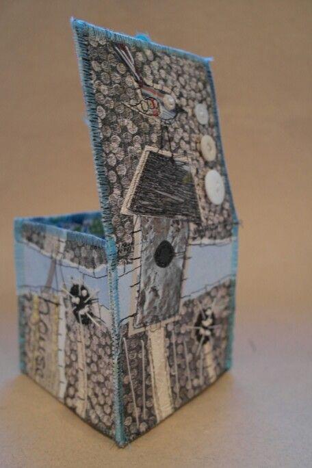 Collage box workshop hannemade