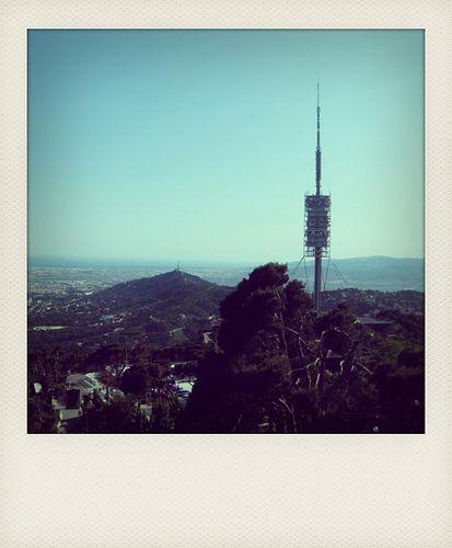 BARCELONA. Torre Collserola